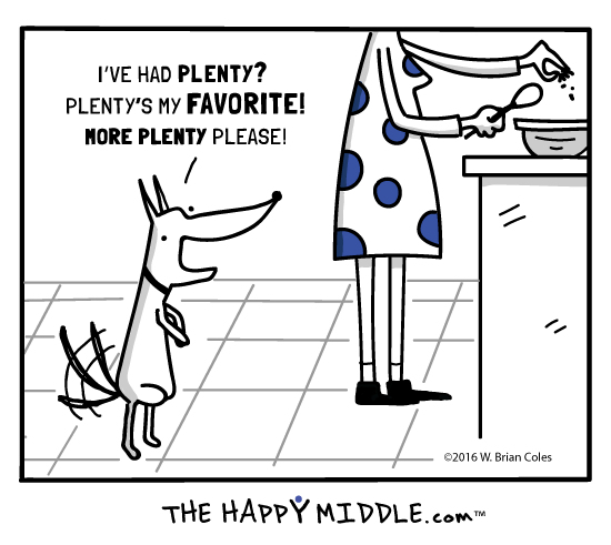 Can I have more plenty please? - TheHappyMiddle.com