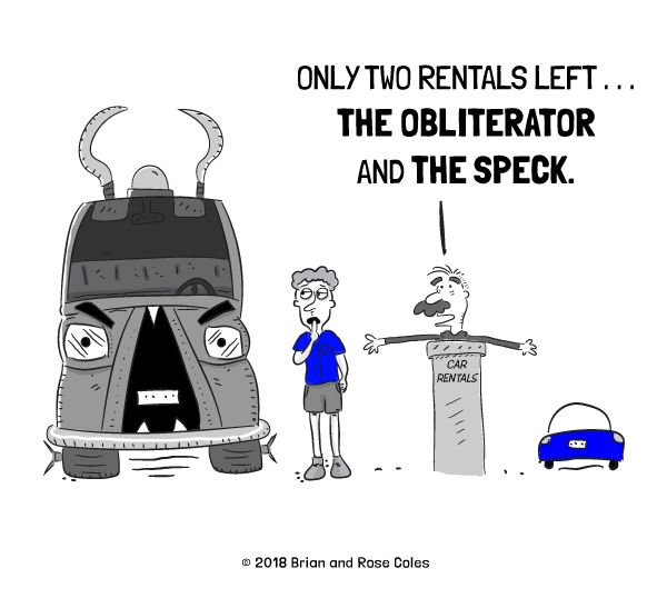 Car Rental Cartoon Archives The Happy Middle Comics By W Brian