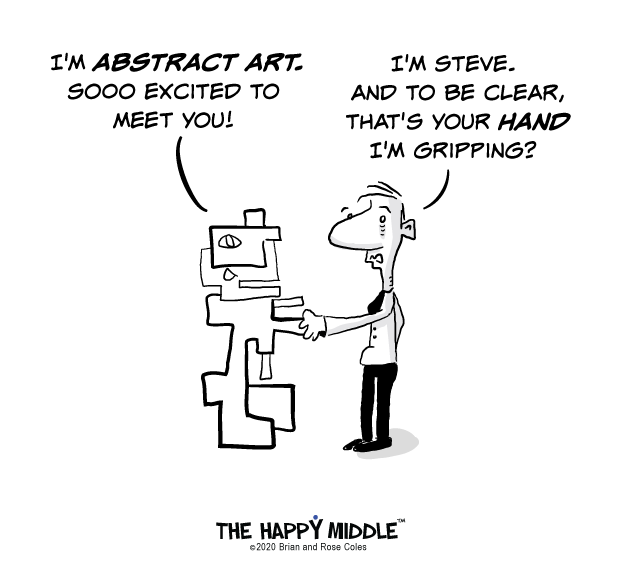 Abstract Art Humor