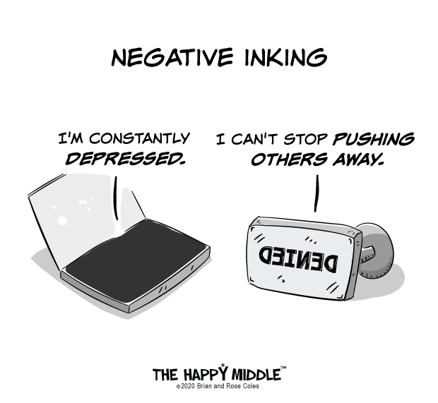 Ink Stamp Cartoon