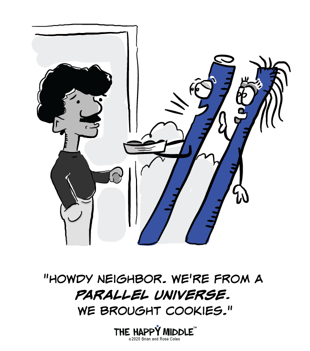 Parallel Universe Cartoon